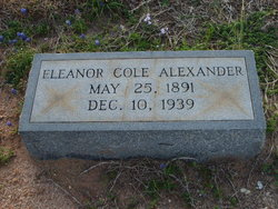 Eleanor Rafferty <i>Cole</i> Alexander