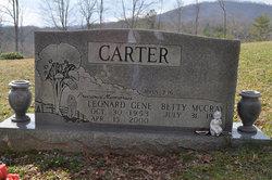 Leonard Gene Carter