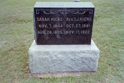 Sarah Elizabeth <i>Phillips</i> Hicks