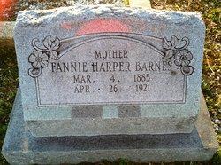 Fannie <i>Harper</i> Barnes