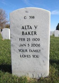 Alta V Baker