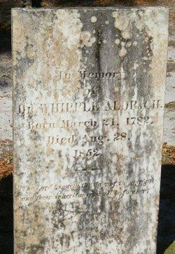 Dr Whipple Aldrich