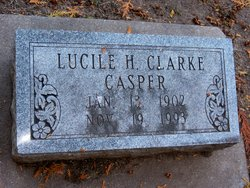 Lucile H <i>Christofferson</i> Casper
