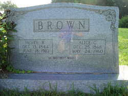 Alice G Brown