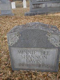 Minnie Lee <i>Shannon</i> Davis