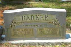 Myrtle Elizabeth <i>Rogers</i> Barker