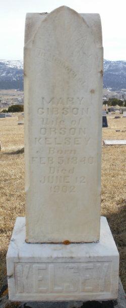 Mary Jane <i>Gibson</i> Kelsey
