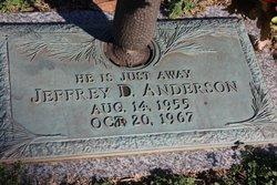 Jeffrey D Anderson