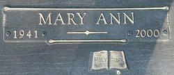Mary Ann <i>Estay</i> Adams
