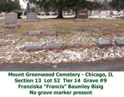 Franziska Francis <i>Baumley</i> Bisig
