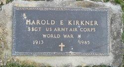 Harold E Kirkner