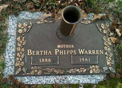 Bertha Phipps <i>Wyatt</i> Warren