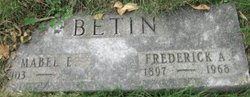 Frederick Alfred Betin