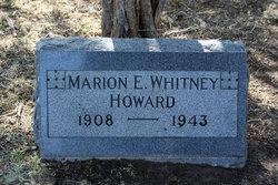 Marion Elizabeth <i>Whitney</i> Howard