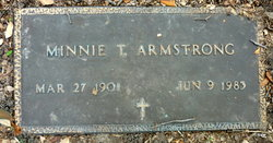 Minnie T Armstrong
