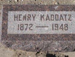 Henry Kaddatz