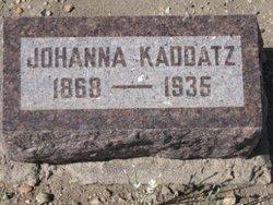Johanna Kaddatz
