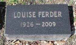Louise <i>Kirkland</i> Ferder