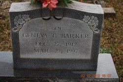 Geneva T. Gen Barker