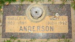 Harold R Anderson