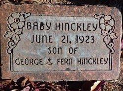 Baby Hinckley