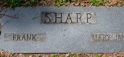 Mary Jane <i>Roberts</i> Sharp