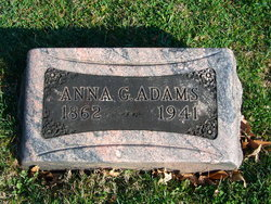 Anna G <i>Herrick</i> Adams