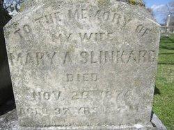 Mary A <i>Dougal</i> Slinkard