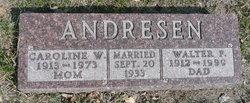 Caroline W. Andresen
