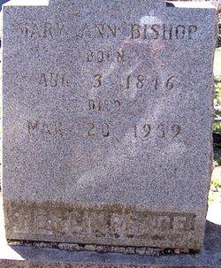 Mary Ann Sophronia Elizabeth <i>Hurt</i> Bishop