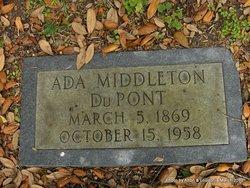 Ada <i>Middleton</i> Dupont