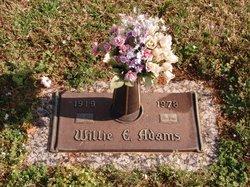 Willie Elbert Adams