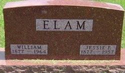 Jessie Florence <i>Morlan</i> Elam