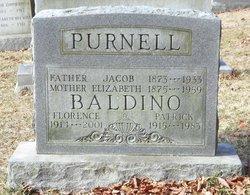 Florence E <i>Purnell</i> Baldino