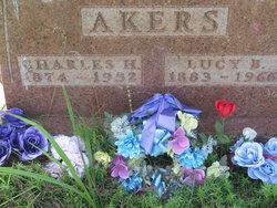 Lucy B <i>Raper</i> Akers