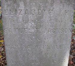 Elizabeth H. Jackson