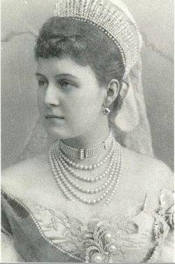 Alexandra Georgievna <i>Oldenburg</i> Romanova