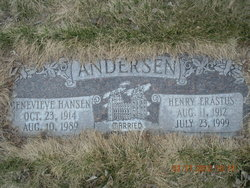 Genevieve <i>Hansen</i> Andersen