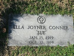 Ella Sue <i>Joyner</i> Conner