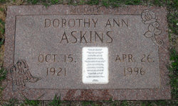 Dorothy Ann Askins