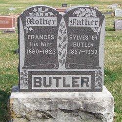 Frances <i>Purcell (Pursel)</i> Butler