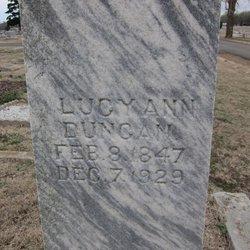 Lucy Ann Duncan