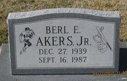 Berl E. Akers, Jr