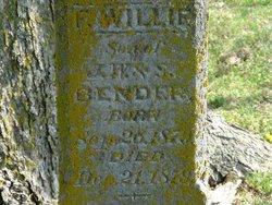 Willie F Bender