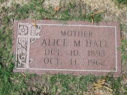 Alice M Hall