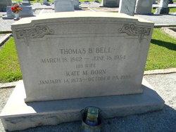 Thomas Beauregarde Tom Bell