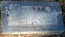 Bonnie Ray Albritton