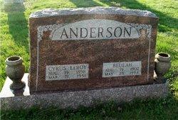 Cyrus Le Roy Anderson