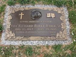Rev Richard Burke Baber, Sr