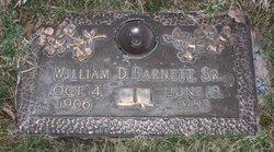 William Dudley Barnett, Sr